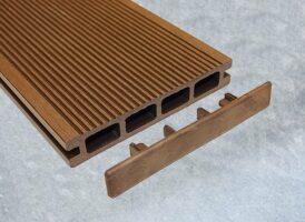 Holzdielen-Basic Stirnkappe-aufkleben