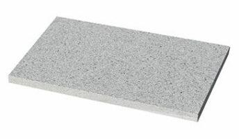 Steinplatte Edelmann Granitgrau