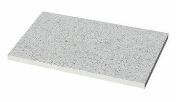 Steinplatte Edelmann Naturweiß