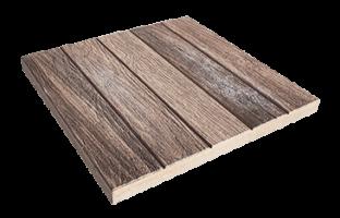 LeichtRein Betonplatte Holzparkett Nuss Gartenplatte