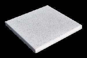 Steinplatte Landhaus Perlweiß 50x50