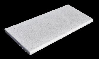 Steinplatte Landhaus Perlweiß 90x45