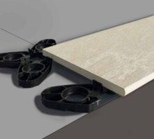 Feinsteinzeug - Randplatte für Outdoor Keramik
