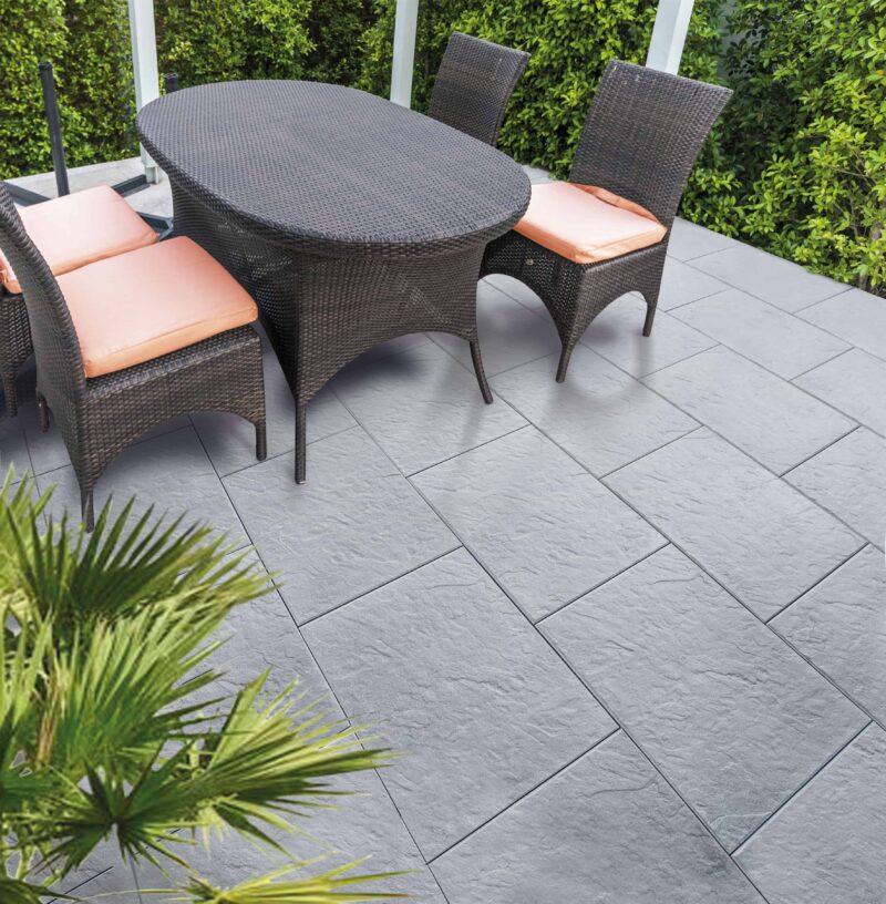 Steinplatte Sandstein | Gartenplatte