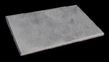Trend Steindiele Silbergrau marmoriert