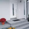 Häusler Sichtkanten als Stufenlösung