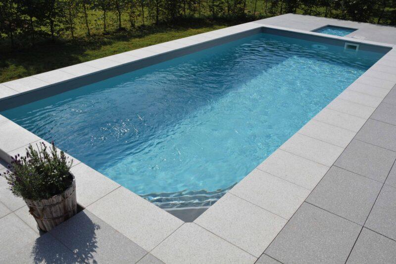 Häusler Poolrandplatte Modern