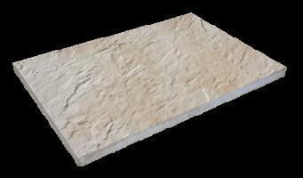 Steinplatte Sandstein beige
