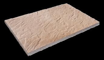 Steinplatte Sandstein braun