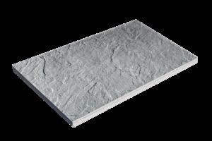 Steinplatte Sandstein grau