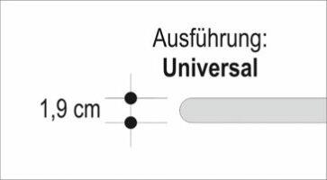Häusler Sichtkanten als Stufenlösung Universal