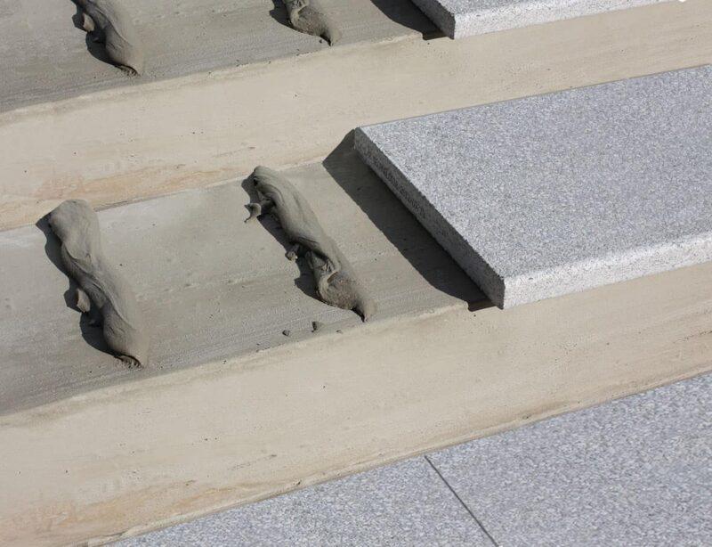 Häusler Leichtrein Poolrand und Stufen - Verarbeitungsmaterial