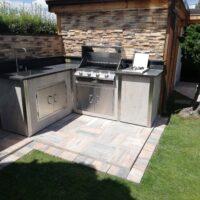 Häusler Outdoor Küche_Kundenküche