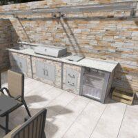Häusler Outdoor Küche_Musterküche