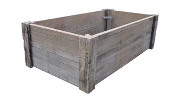 Versteinertes Holz - Hochbeet