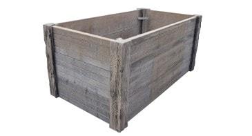 Häusler Versteinertes Holz - Hochbeet