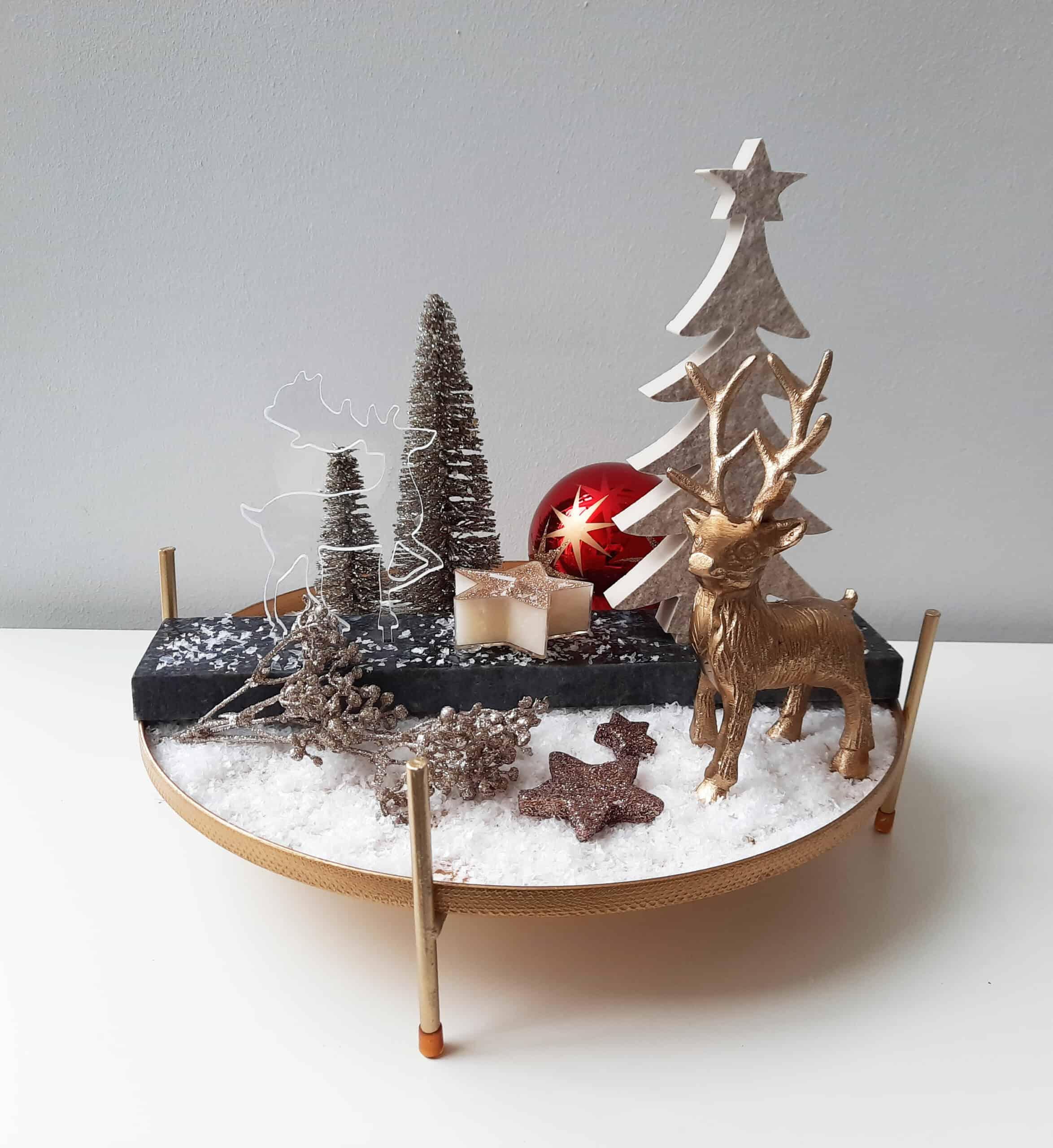 Häusler BeCreative Rentier mit Baum